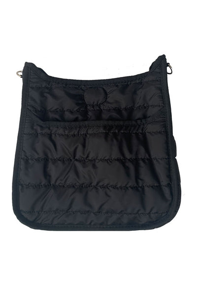 Ahdorned - Puffy Sport Messenger Bag Black (sold without strap)