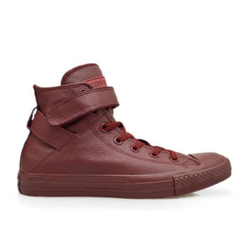 Converse Brea- Burgundy High-Top Sneaker