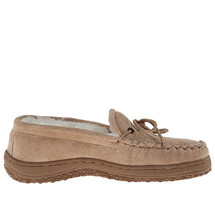 Old Friend Loafer Moccasin- Chestnut Brown Slipper