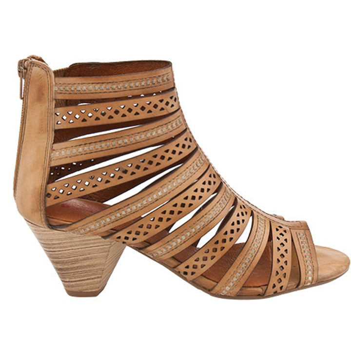Pikolinos Maracaibo- Brown Cut-Out Sandal