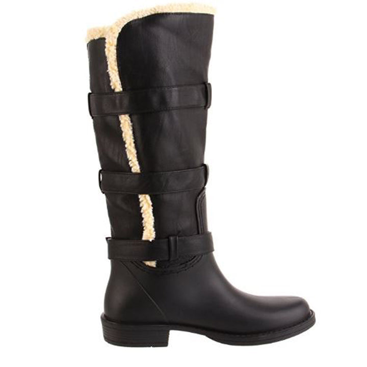 Wanted Bucaneer - Black Knee-High Boot