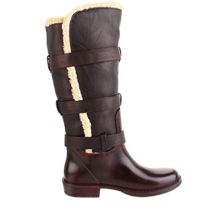 Wanted Bucaneer - Brown Knee-High Boot