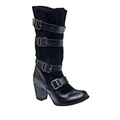 Chelsea Crew Candy - Black Knee-High Boot