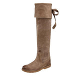 Frye Boot Celia- Over the Knee Taupe Boot