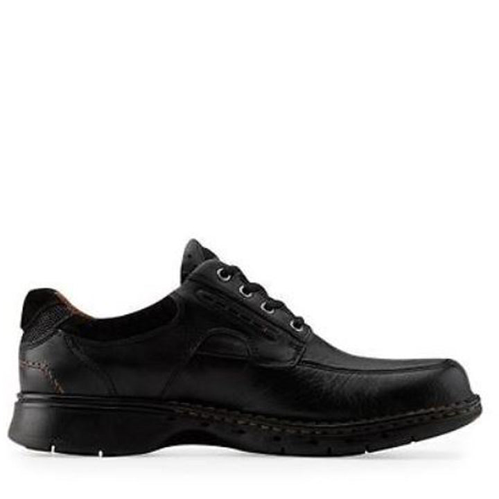 Clarks Un Ravel - Black Leather Oxford
