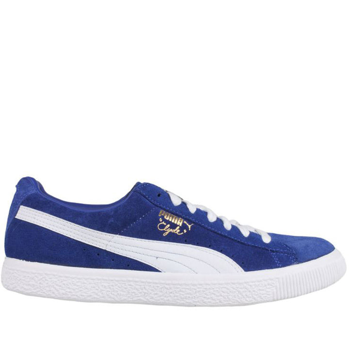 revendeur 56724 4ccd1 Puma Clyde Suede - Blue Low-Top Sneaker