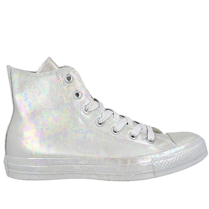 Converse Rubber Chuck- Oil Slick Mouse High Top Sneaker