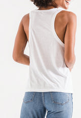 Z Supply - The Tribland White Racer Tank