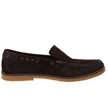 Dr Scholls Dodd - Dark Brown Suede Loafer