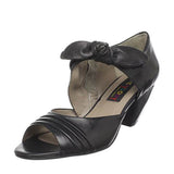 Everybody by B.Z. Moda Grollo- Black Side Zip Sandal