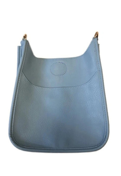 Ahdorned - Mini Vegan Messenger Light Blue (sold without straps)