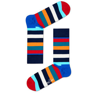 Happy Socks Stripe- Unisex Multi Stripe Sock