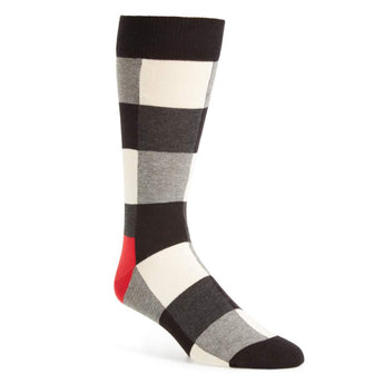 Happy Socks- Unisex Holday Check Sock