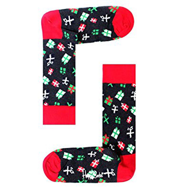 Happy Socks Holiday- Unisex Multi-Colored Presents