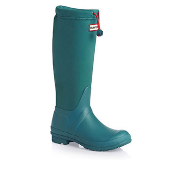 Hunter Original Tour Willie- Neoprene Bright Peacock Boot