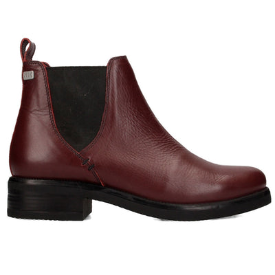 Musse & Cloud - Priti Burgundy Leather