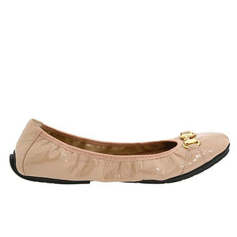 Me Too Legend- Driftwood Patent Leather Ballet Flat