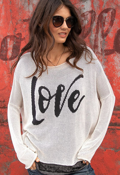 Wooden Ships - Love Boyfriend Crew Mercer Half Moon
