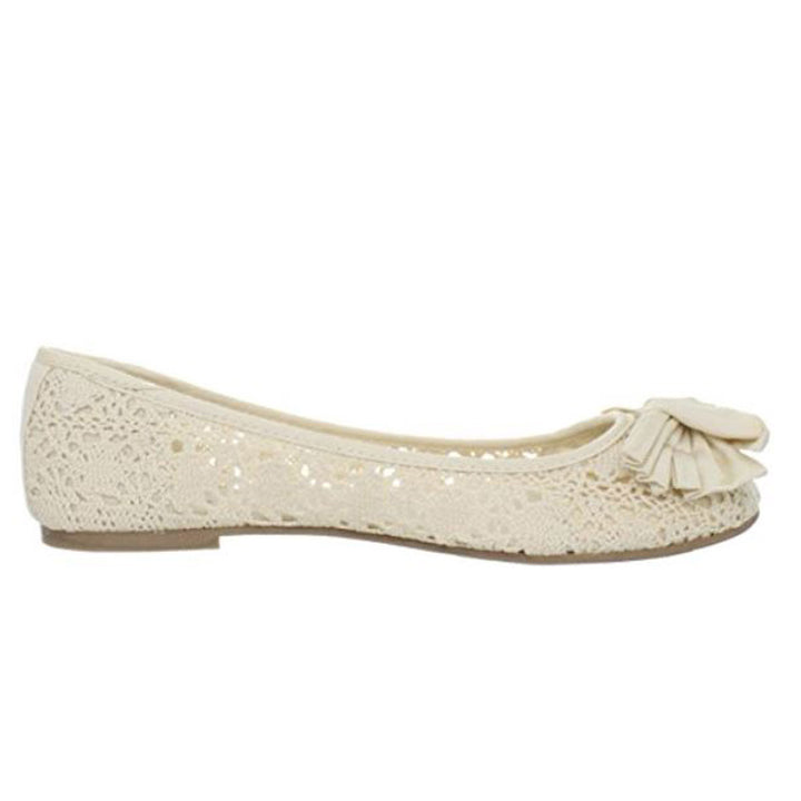 Wanted Magda - Natural Ballet Flat