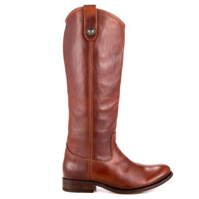 Frye Boot Melissa Button - Brown Tall Riding Boot