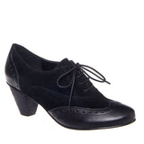 Chelsea Crew Monte - Black Lace-Up Oxford