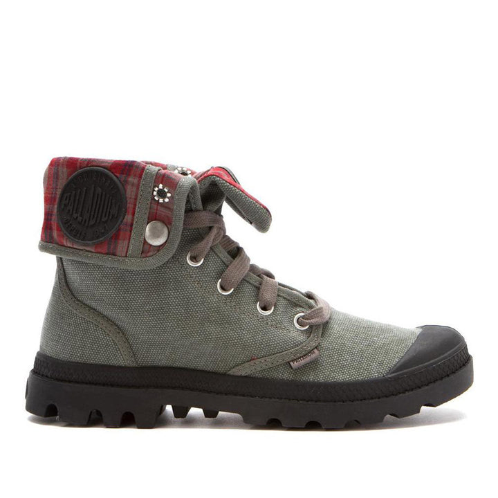 Palladium Baggy Canvas - Stonewash Lace-Up Sneakers