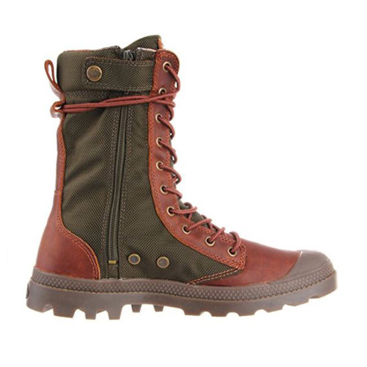 Palladium Pampa Tactical - Brown / Olive High Boots