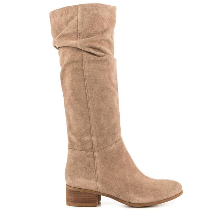 Steve Madden Pondrosa - Taupe Suede Tall Boot