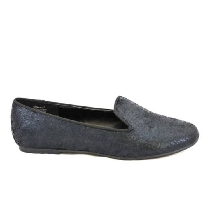 Wanted Ritzy - Black Flat Loafer
