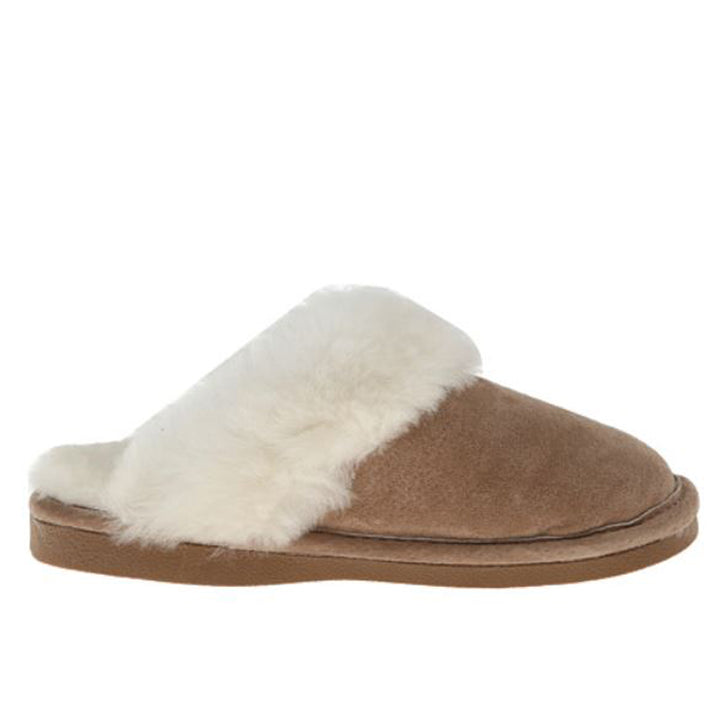Old Friend Ladies Scuff - Chestnut Shearling Slippers