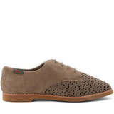 Bass Ellie Searock- Brown Perforated Oxford