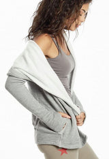 Hard Tail - Heather Grey Hoodie Jacket