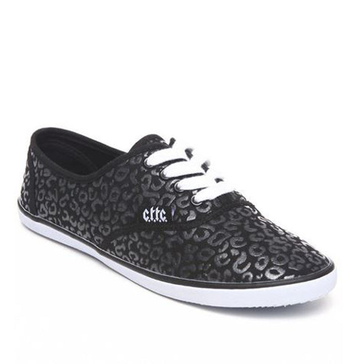 Cute To The Core Prime Slim - Black Low-Top Sneakers