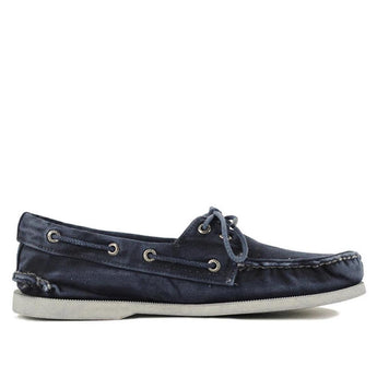 Sperry Top-Sider 2-Eye- Navy Blue Boat Shoe