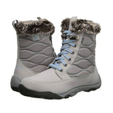 Sperry Top-Sider Winter Cove Boot - Light Grey Waterproof Lace-Up Boot