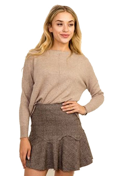 Kixters - Mocha Long Sleeve Sweater
