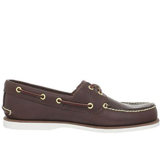 Timberland 2-Eye Classic Boat - Dark Brown Boat Shoe