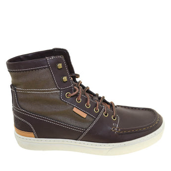 Timberland Cup Sole- Dark Brown High-Top Sneaker