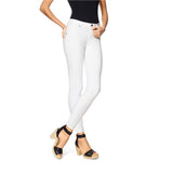 Hue Essential Denim Skimmer- White Denim Leggings