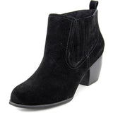 Restricted Wynter - Black Suede Pull-On Bootie