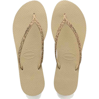 Havaianas You Animals - Sand Grey EVA Flip-Flop