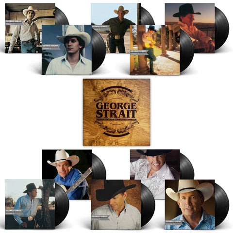 George Strait - Strait Out of the Box: Vinyl Collection