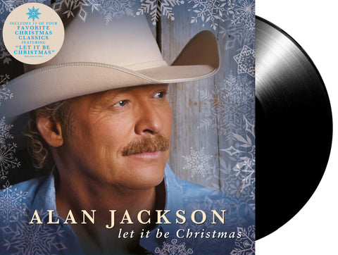 Alan Jackson - Let It Be Christmas Vinyl (Pre-Order)