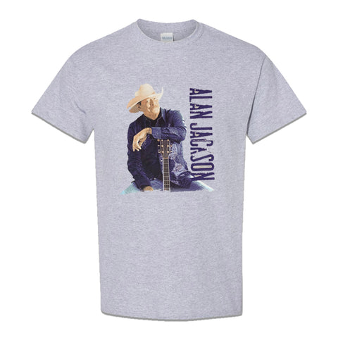 Alan Jackson - Blue Logo (T-Shirt)