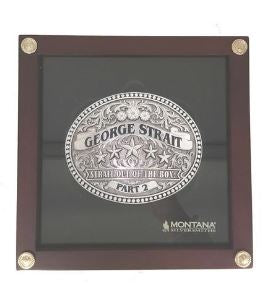 George Strait - Belt Buckle (Autographed)