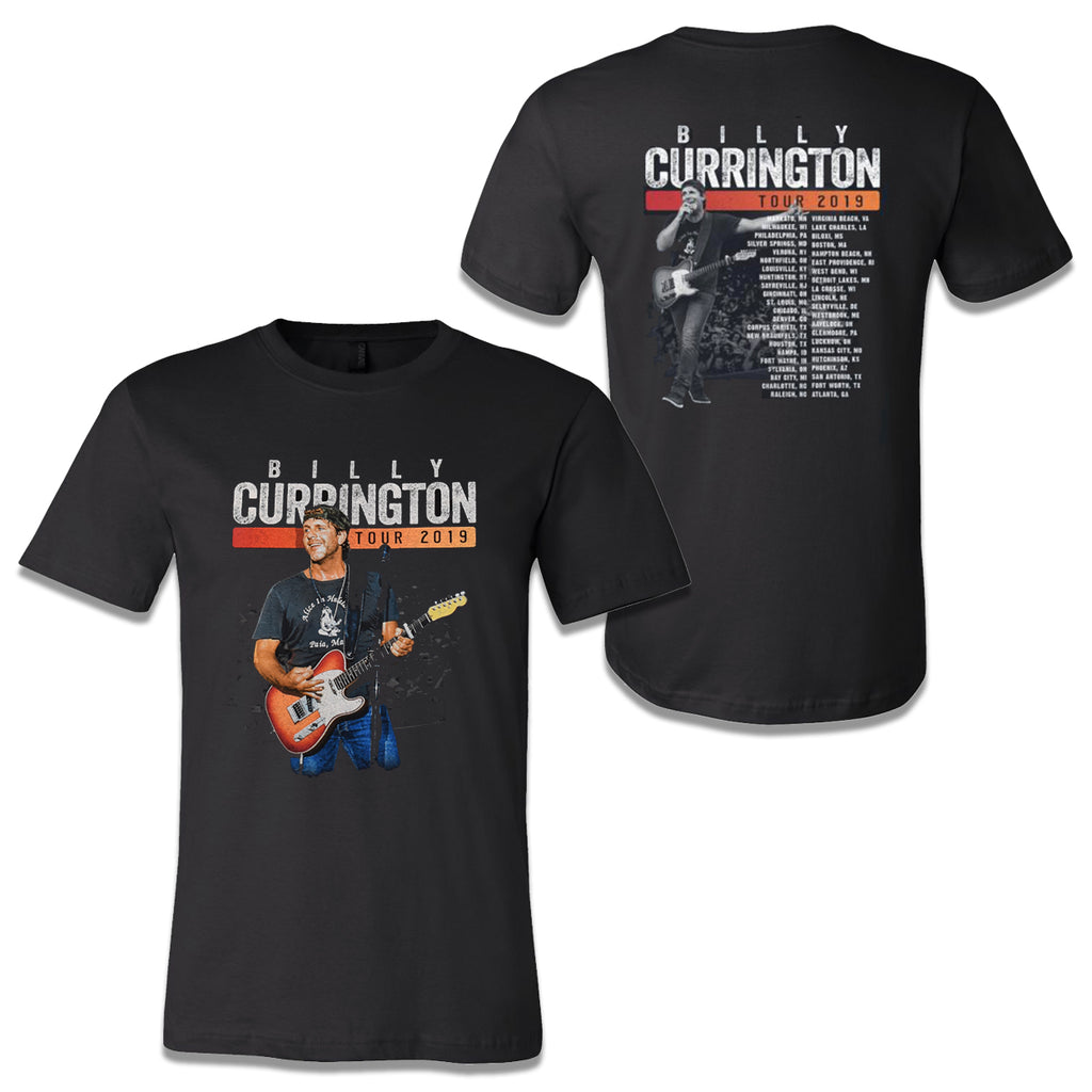 Billy Currington - 2019 Tour T-Shirt