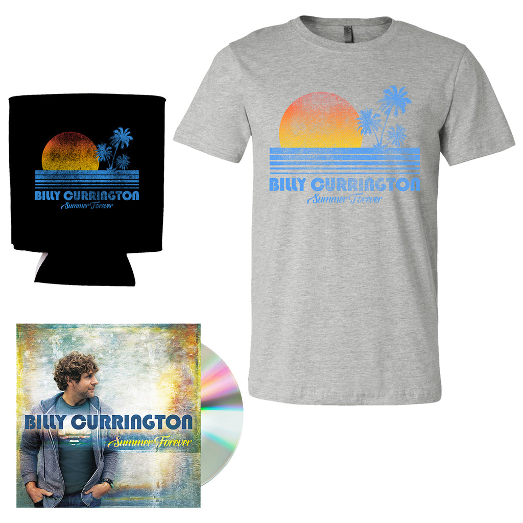 Billy Currington - Summer Forever Deluxe Package