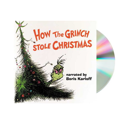 Boris Karloff - How the Grinch Stole Christmas (CD)