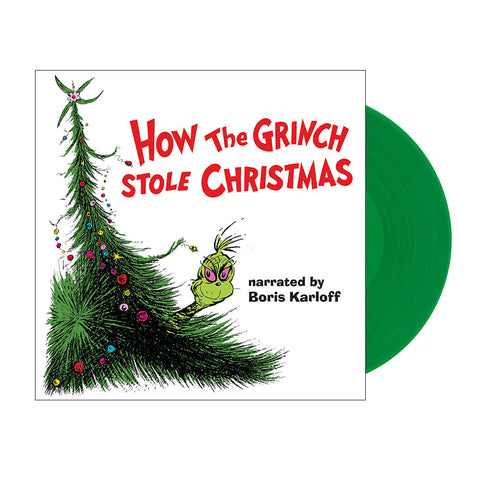 Boris Karloff- How the Grinch Stole Christmas (Vinyl – Green)