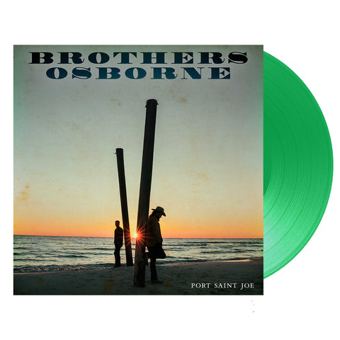 Brothers Osborne-Port Saint Joe- (Vinyl- Green Color) ***LIMITED EDITION***